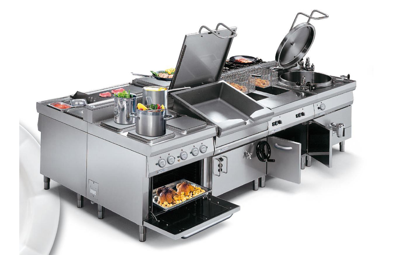 Kitchen02 Cucine Industriali Ristoranti Mensa Acciaio Mo 02